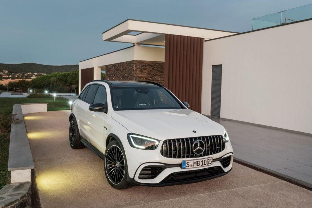 2022 Mercedes AMG GLC 63 S SUV 4