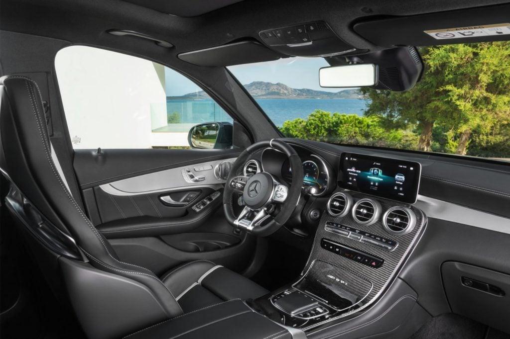 2022 Mercedes AMG GLC 63 S SUV 8