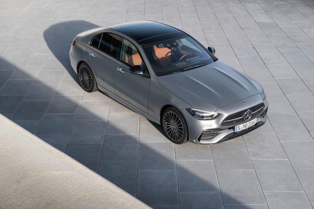 2022 Mercedes-Benz C-Class.