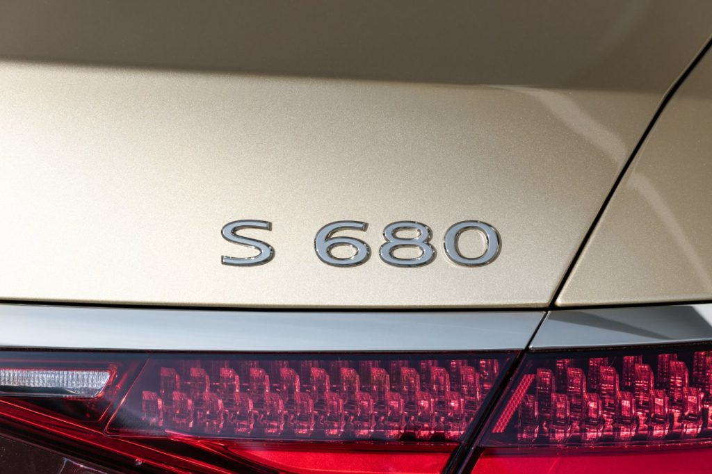 2022 Mercedes Maybach S 680 4MATIC Sedan 23
