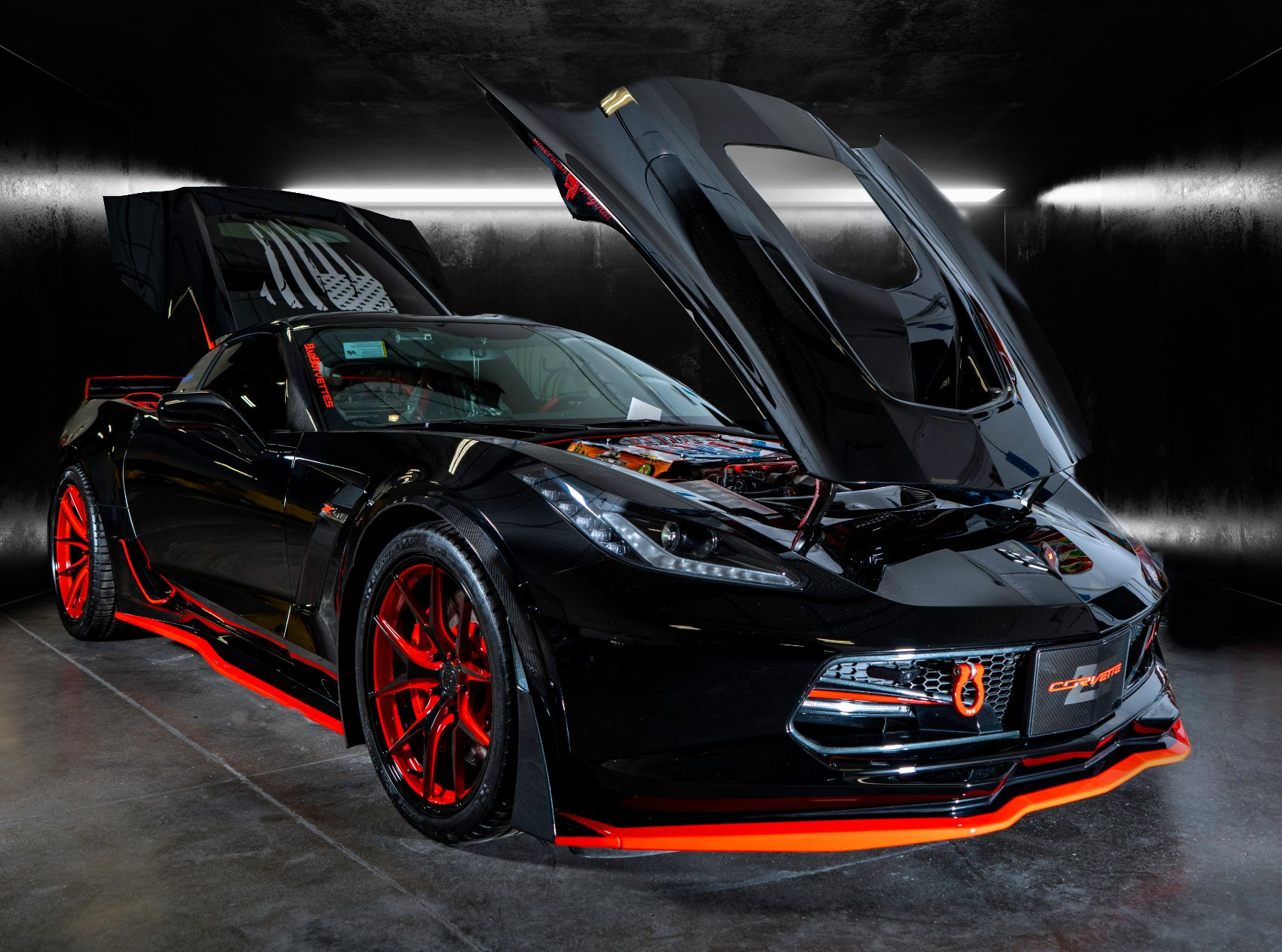 This Customized Chevy Corvette Z06 Pays Tribute to Veterans
