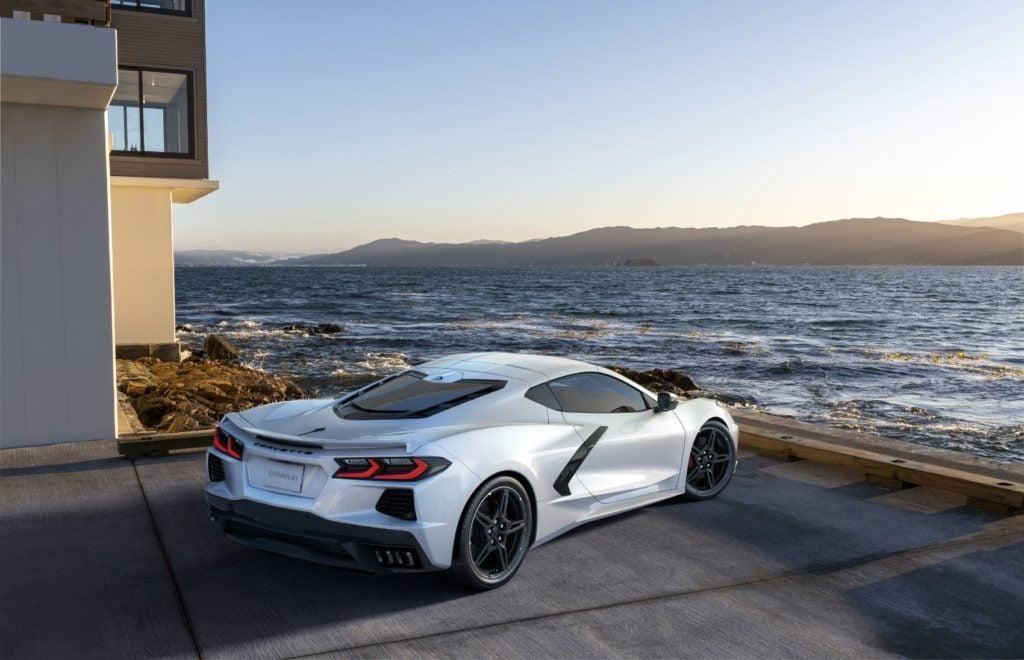 2022 Chevy Corvette.