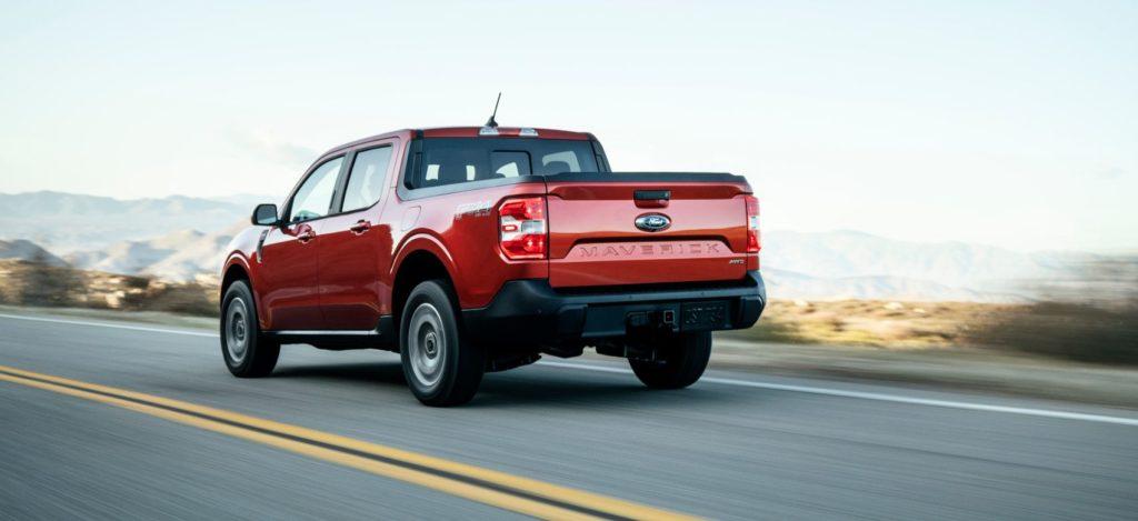 2022 Ford Maverick 4
