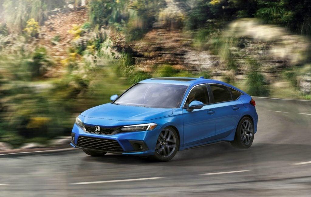 2022 Honda Civic Hatchback.