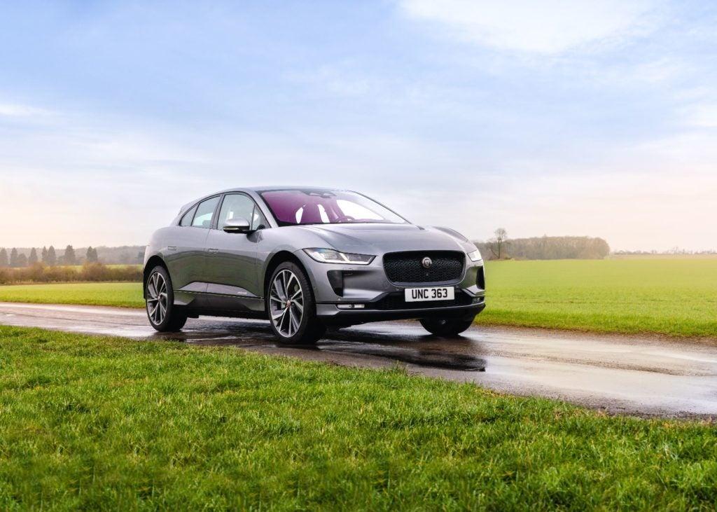 2022 Jaguar I-Pace.