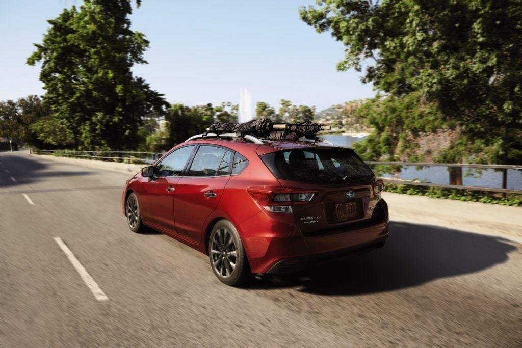 2022 Subaru Impreza Hatchback.