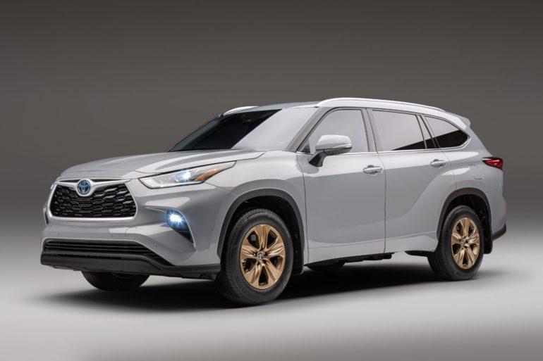 2022 Toyota Highlander Hybrid Bronze Edition 4
