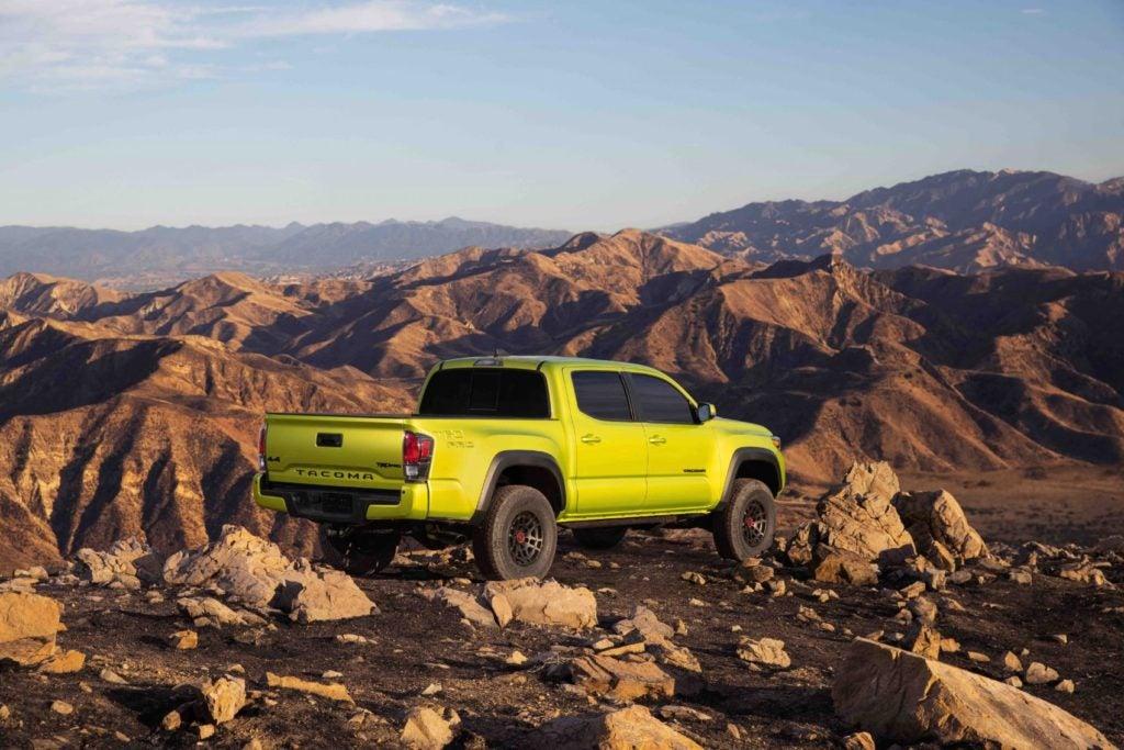 2022 Toyota Tacoma TRD Pro.