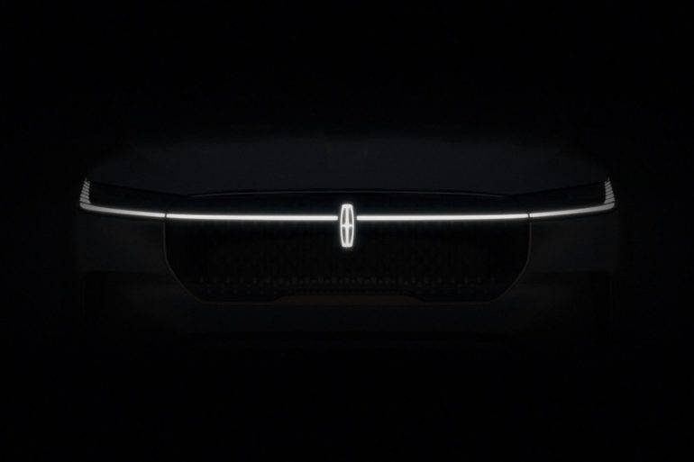 Future Lincoln Exterior Tease with Embrace Lighting