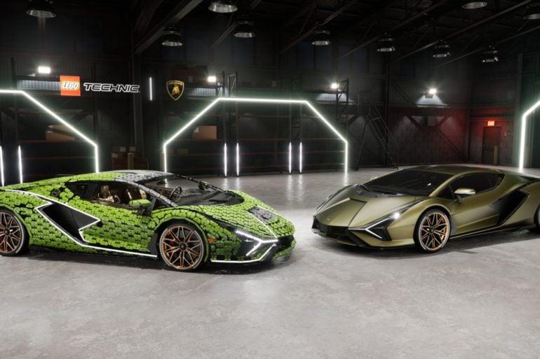 LEGO Lamborghini Sian FKP 37 1