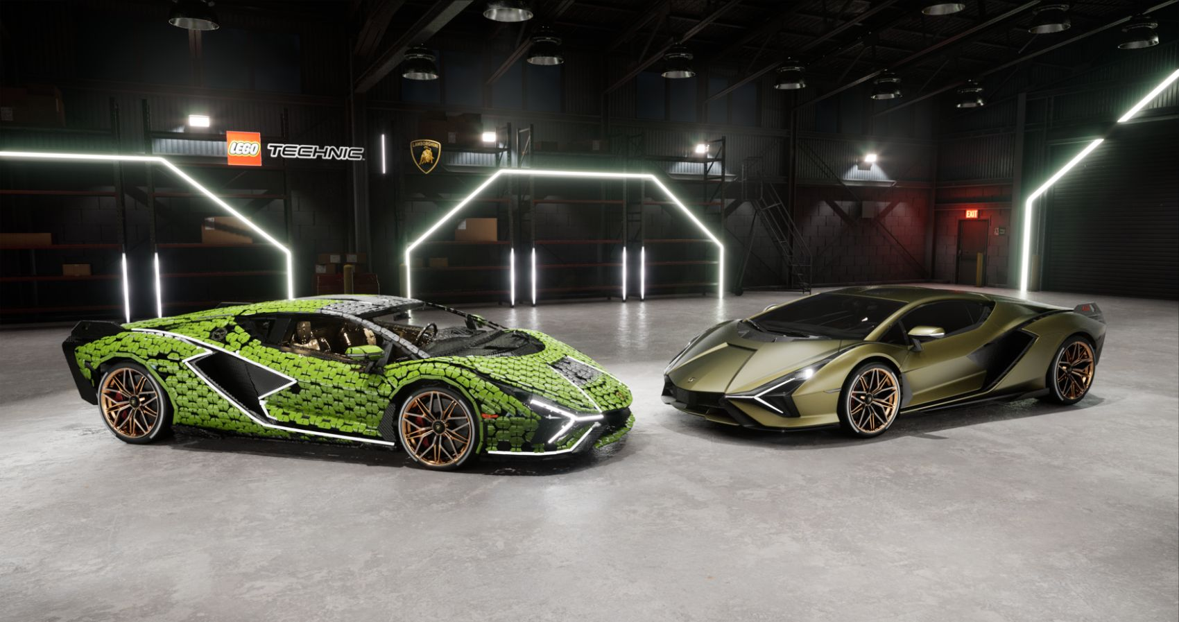 You Won't Believe This Lamborghini Sián Made Entirely From LEGOs!