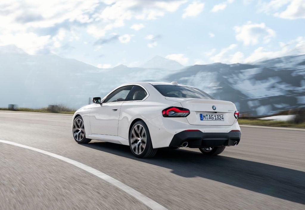 2022 BMW 2 Series Coupe: More Car But Same Great Rear-Wheel Drive Thrills