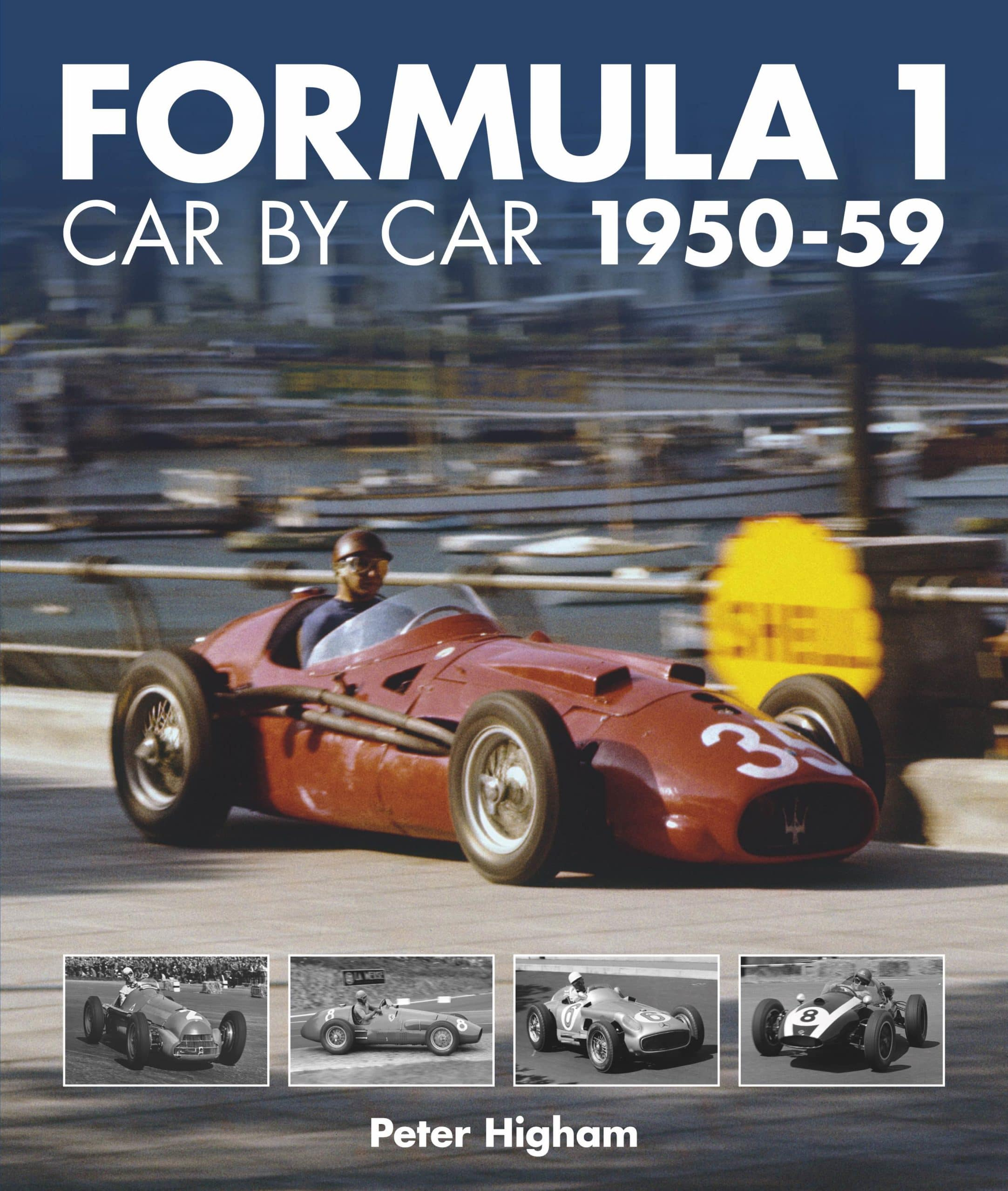 Formula 1: Car by Car 1950 – 59 cover