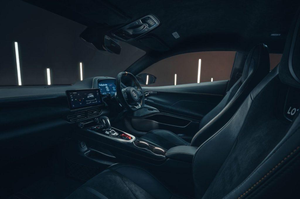 Lotus Emira interior layout.