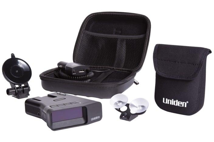 Uniden R7 equipment.