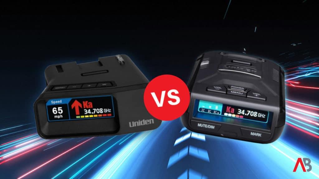 Uniden R3 vs. Uniden R7