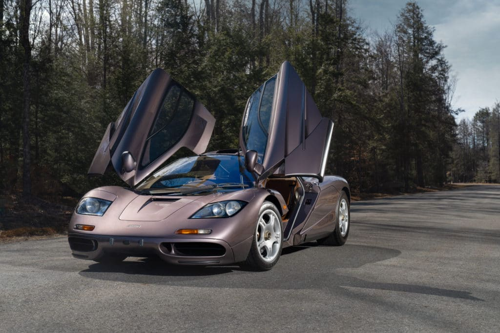 This 1995 McLaren F1 Road Car - also known as Chassis 029 - was part of a private Japanese collection rarely seen in public.