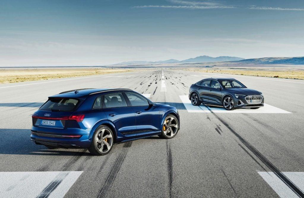 2022 Audi e-tron S and e-tron S Sportback.