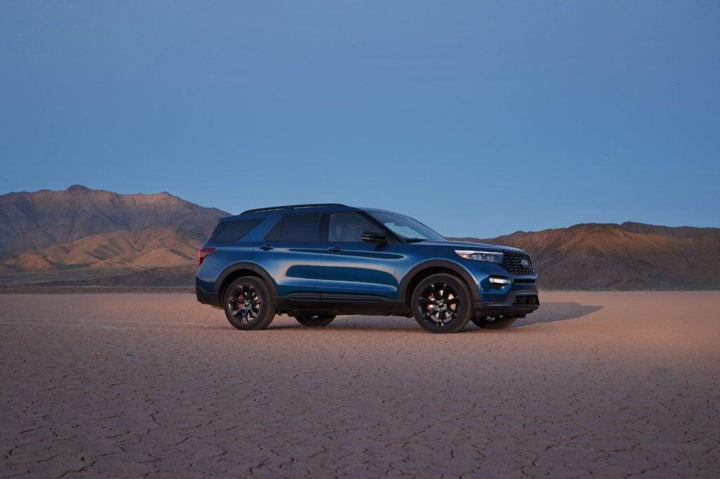 2022 Ford Explorer ST.