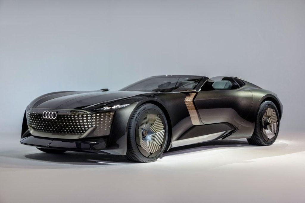 Audi skysphere concept.