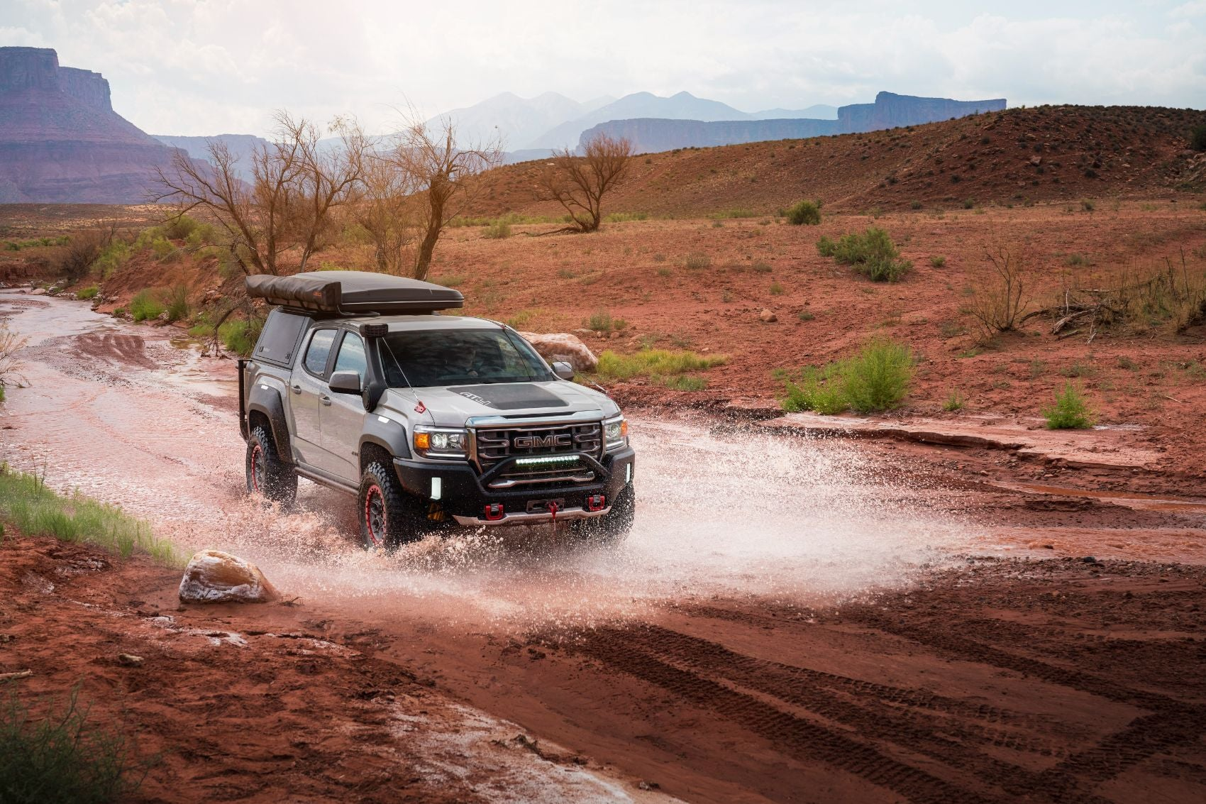 Bite-Size Podcast & Photo Gallery: GMC Canyon AT4 OVRLANDX Off-Road Concept