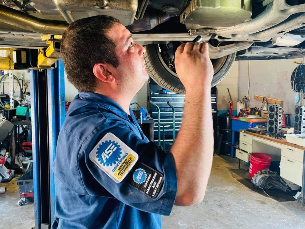 """""""My father always told me to learn something every day no matter how little or how big, and my mom always said, no matter what job you are doing, strive to be the best at it."""" ~ Jose A. Campos III, In-Shop Technician, asTech."""