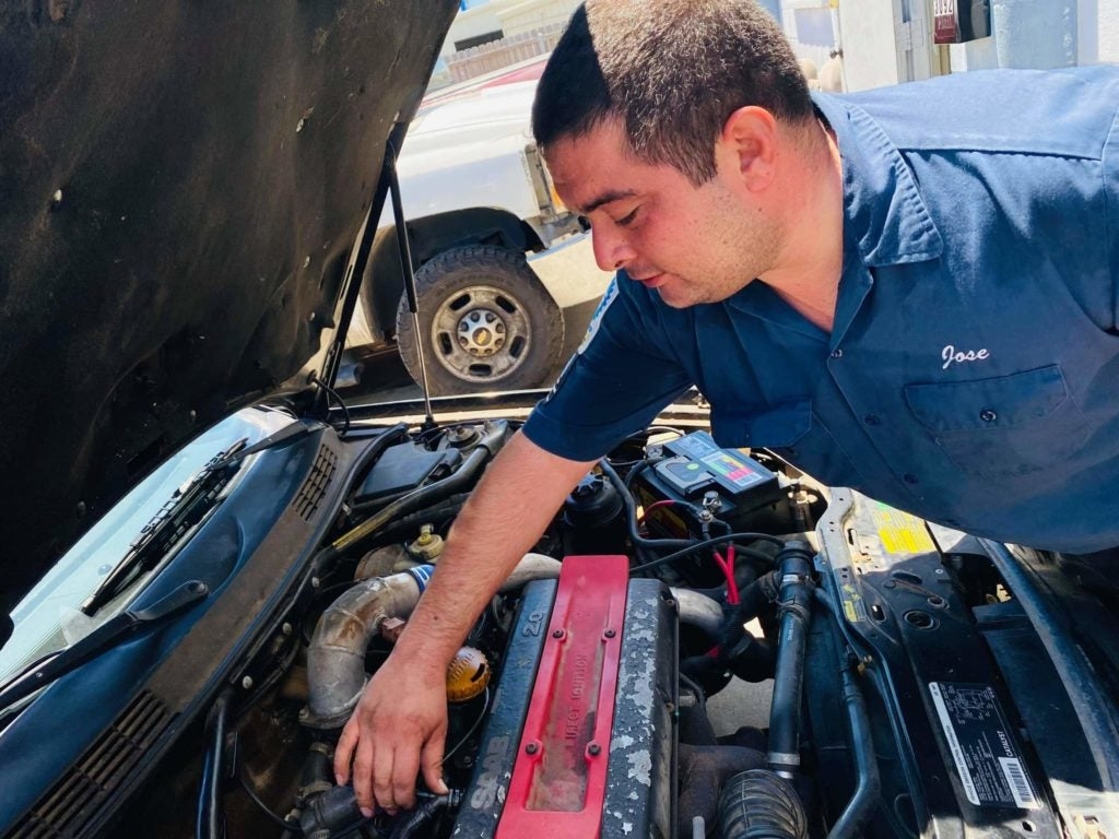 Meet Jose Campos: Certified Automotive Technician, Dedicated Family Man & Loyal Saab Fan
