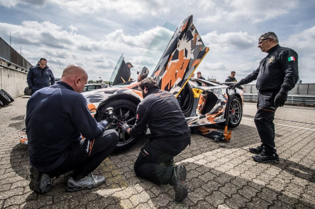 Lamborghini Aventador SVJ Nurburgring lap record 2