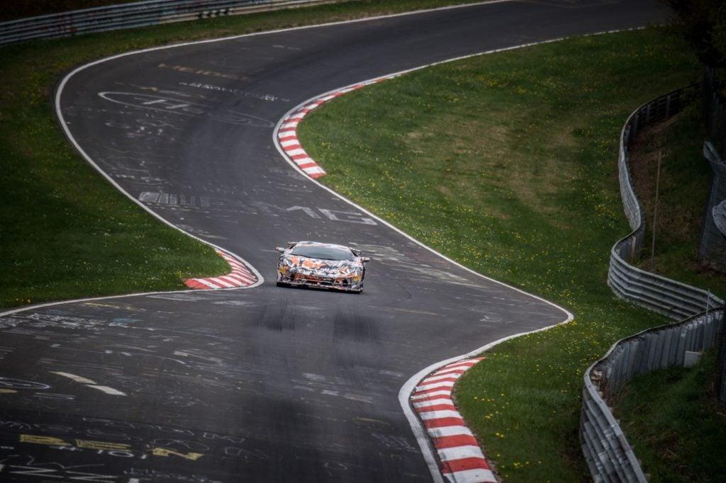 Lamborghini Aventador SVJ Nurburgring lap record 3