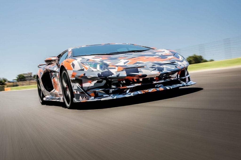 Lamborghini Aventador SVJ Nurburgring lap record 4