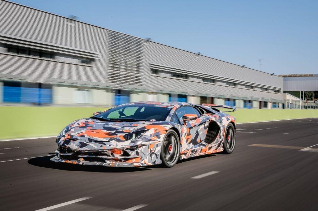 Lamborghini Aventador SVJ Nurburgring lap record 5