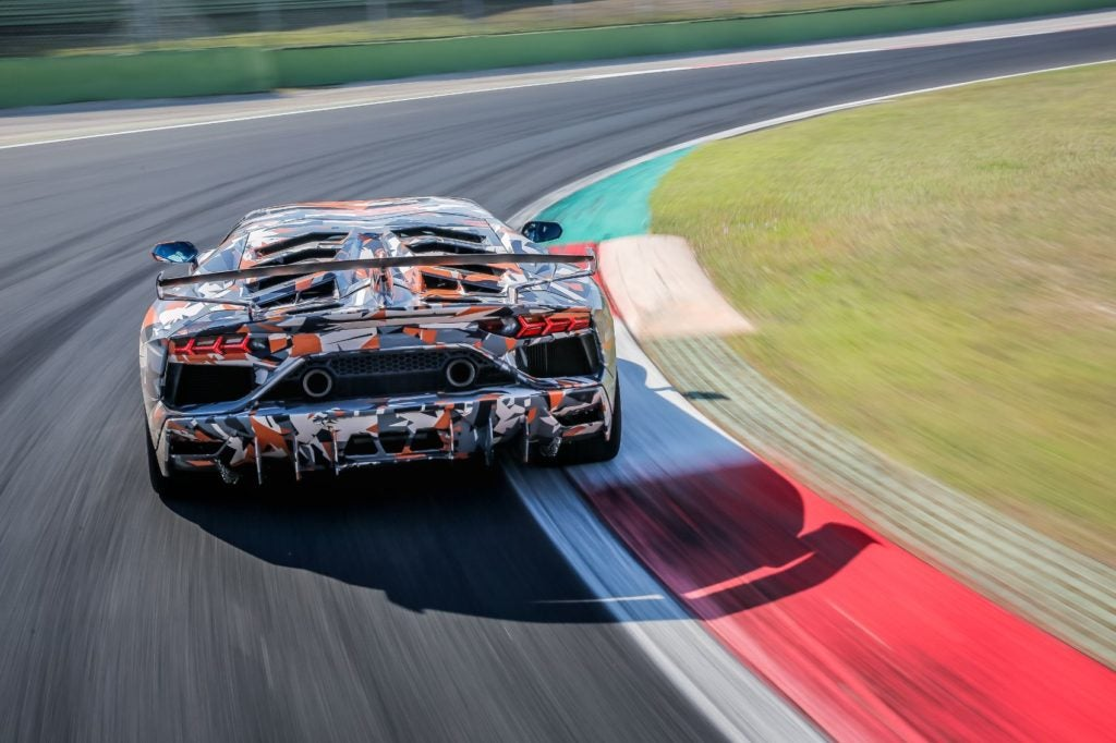 Lamborghini Aventador SVJ Nurburgring lap record 6