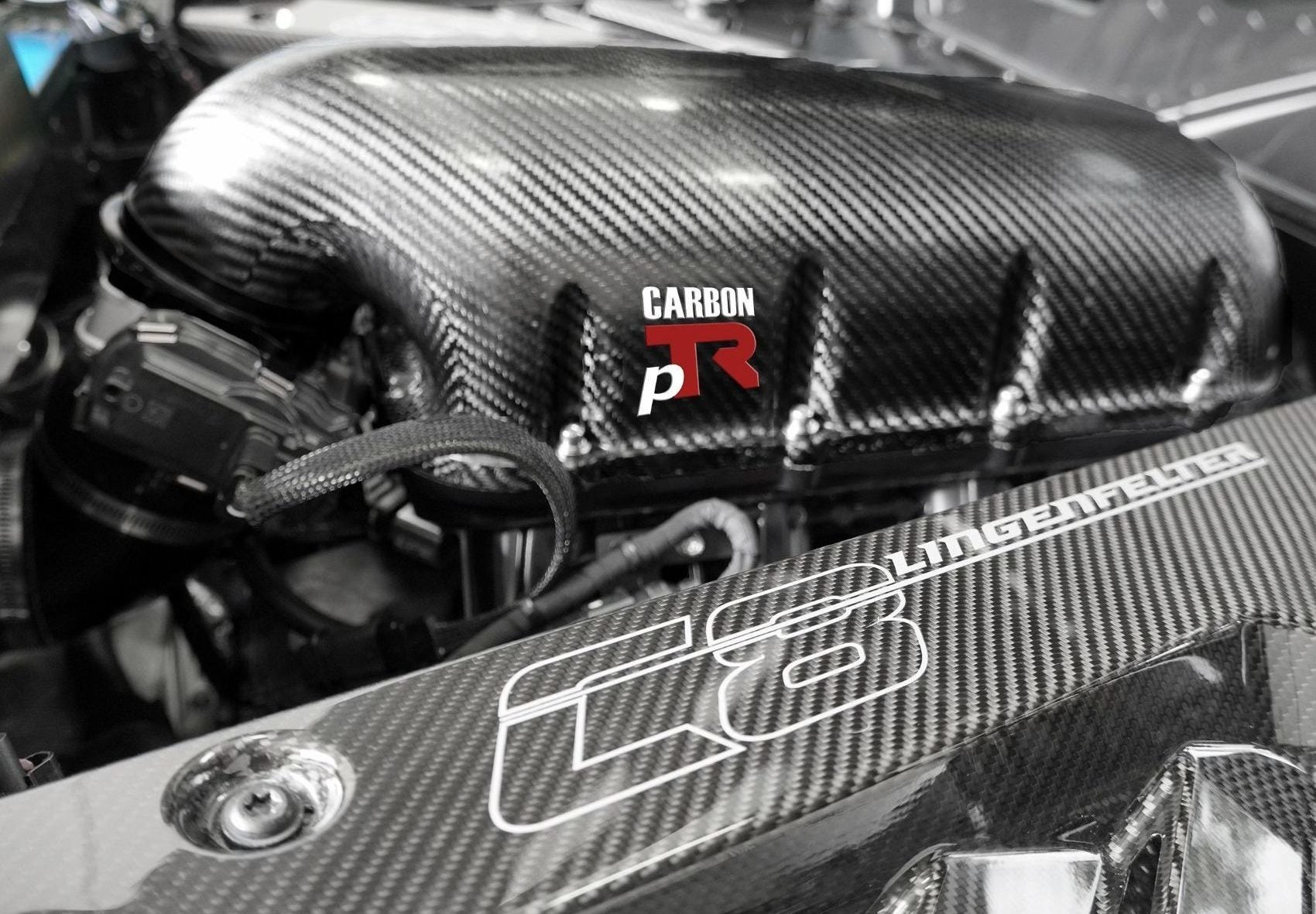 Lingenfelter Launches Performance Design pTR Carbon Fiber Intake Manifold System for C8 LT2 Corvettes