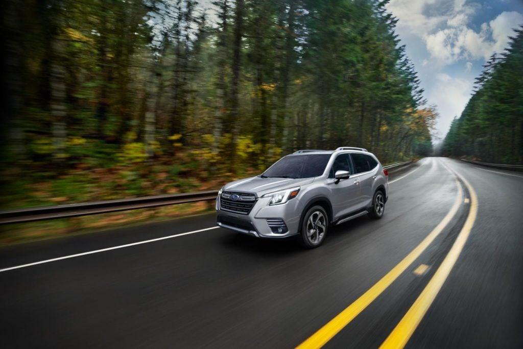2022 Subaru Forester Touring.