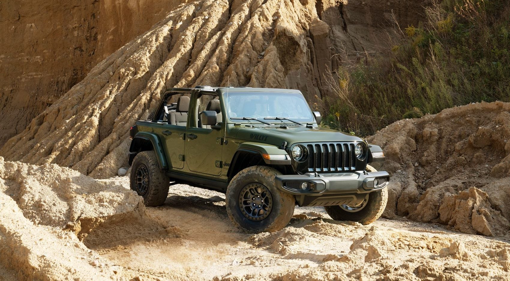 Xtreme Recon Package Now Available For The 2022 Jeep Wrangler Willys