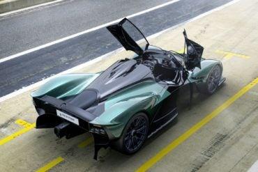 Aston Martin Valkyrie Spider 1