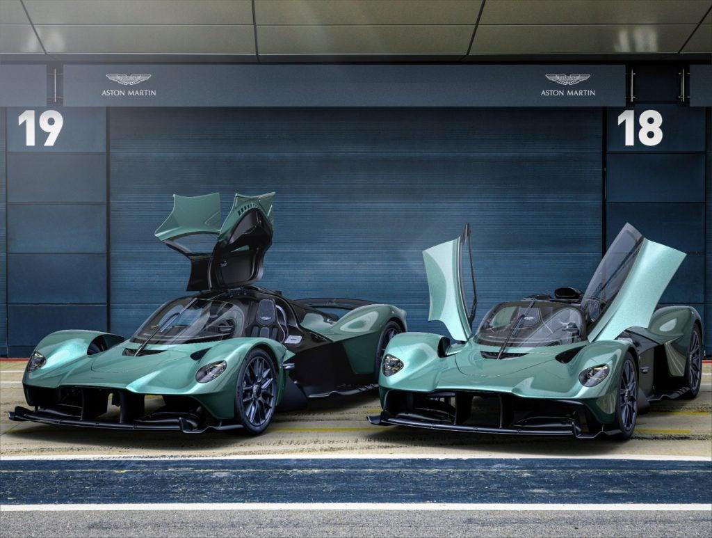 Aston Martin Valkyrie Spider 4