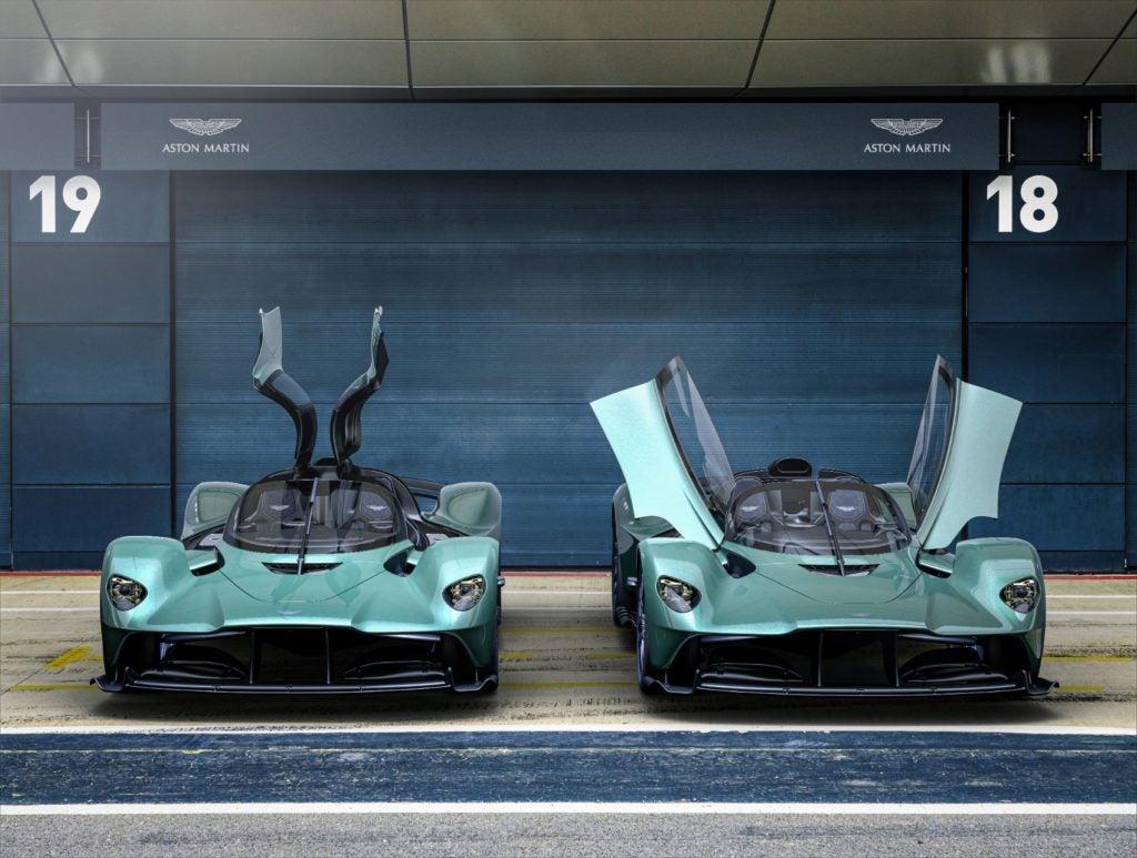 Aston Martin Valkyrie Spider 5