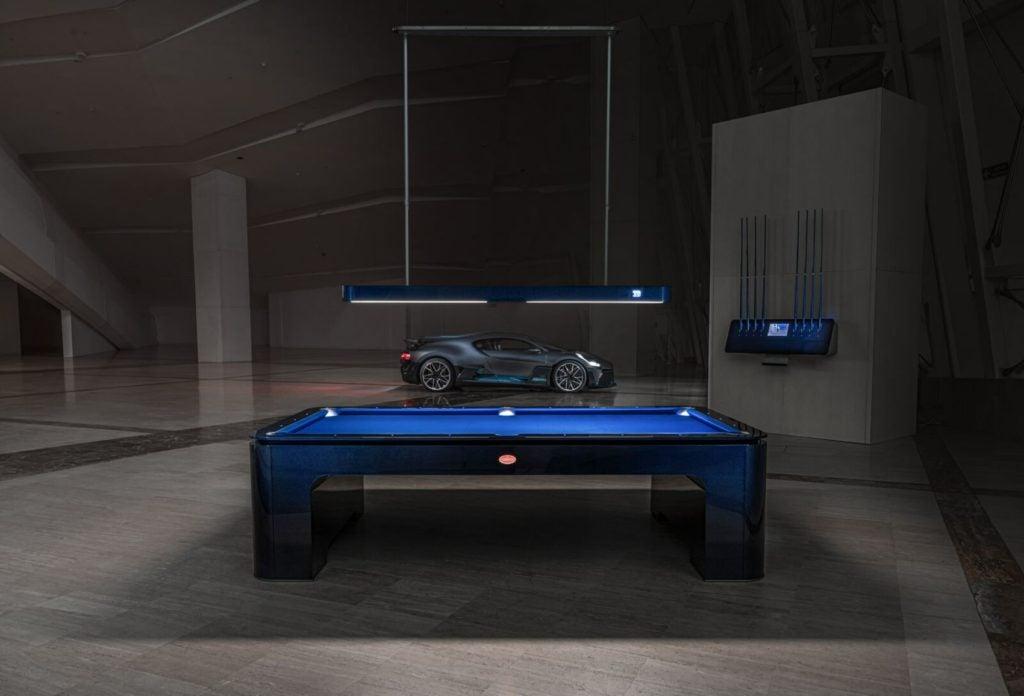 Bugatti pool table.