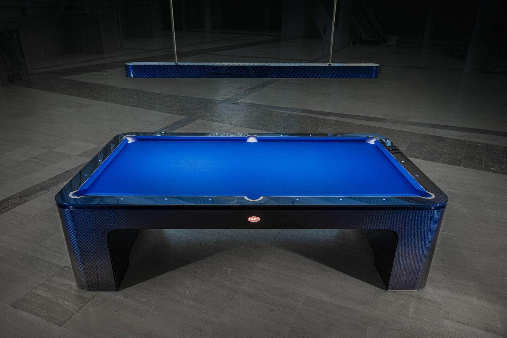 You've Never Seen a Pool Table Like a Bugatti Pool Table