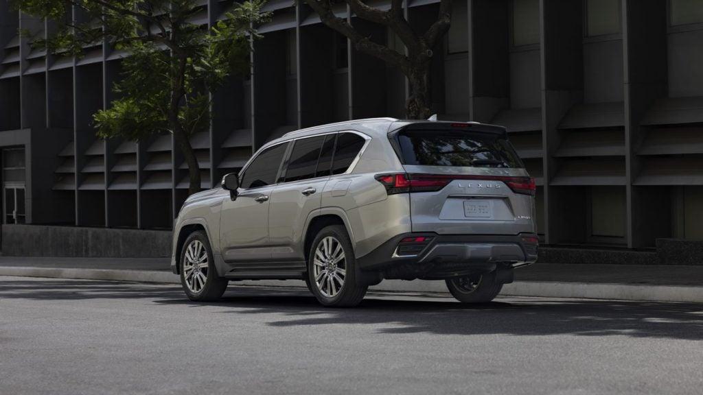 2022 Lexus LX 600.