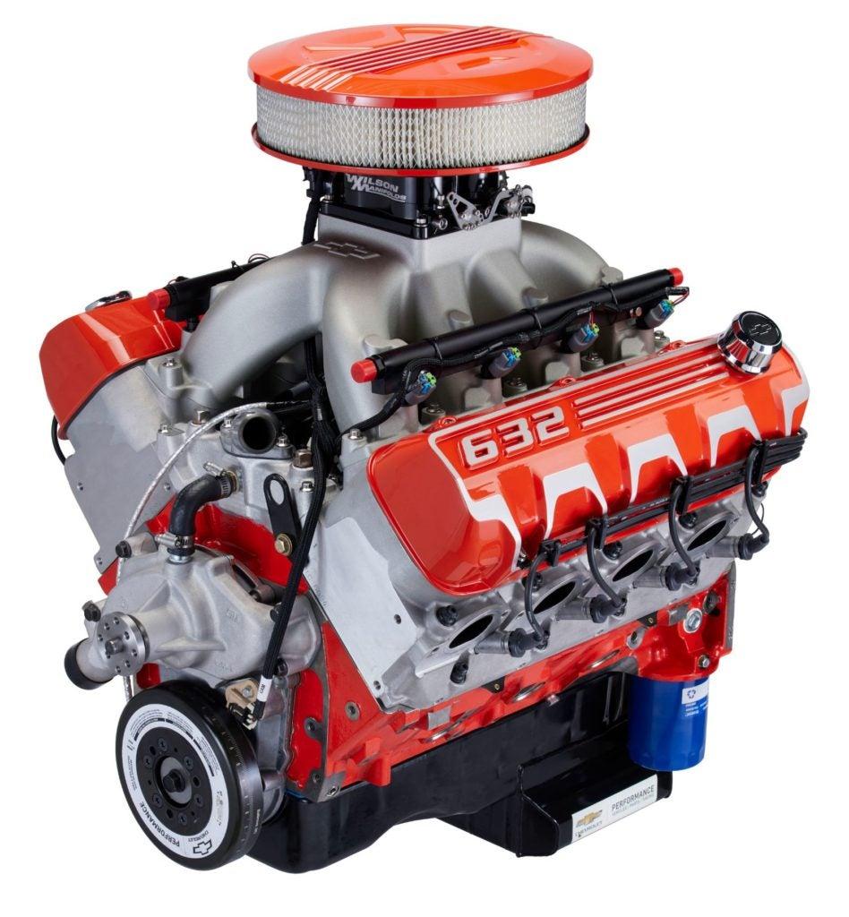 Chevrolet Performance ZZ632 crank engine