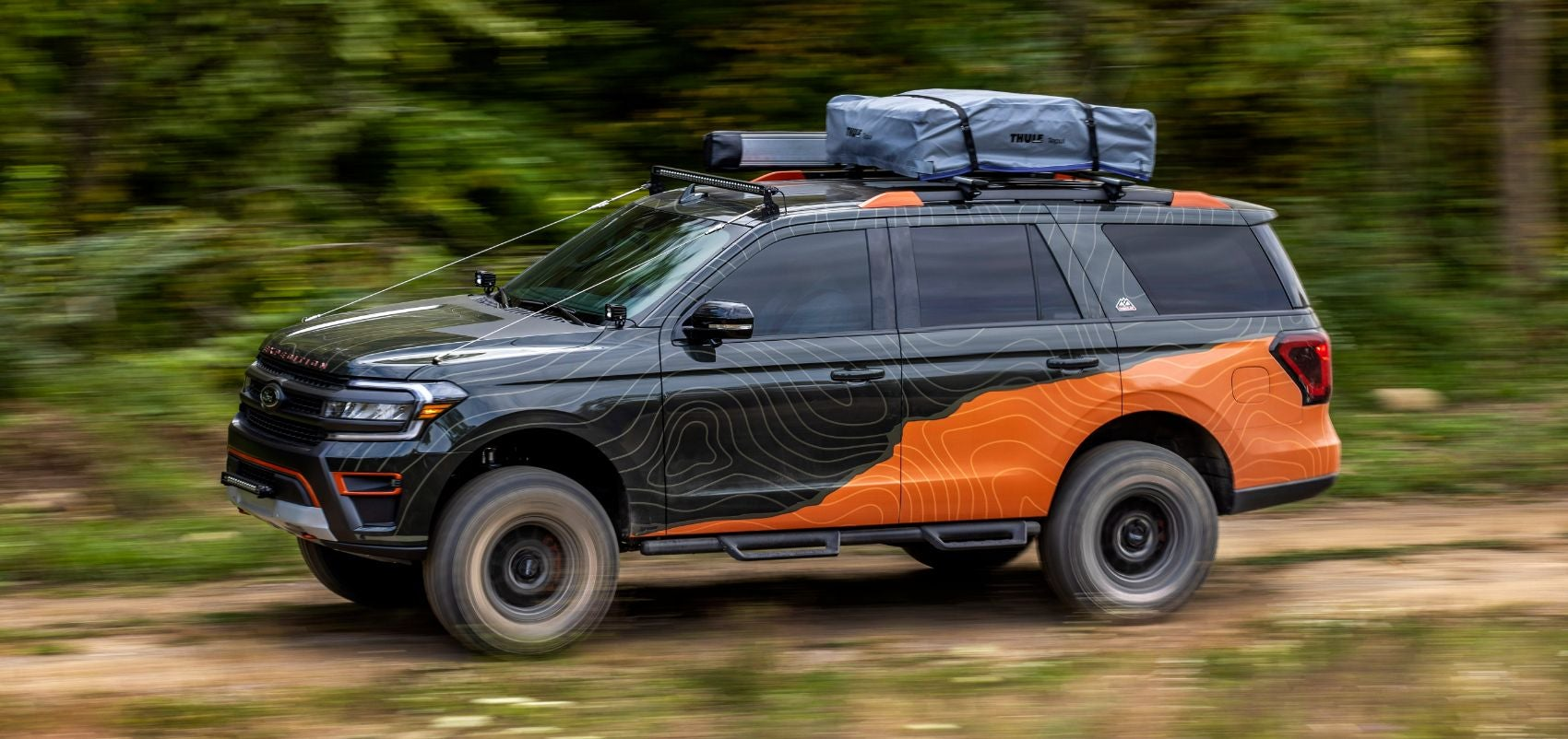 Enjoy This Cool Gallery of The Ford Expedition Timberline Off-Grid Concept!